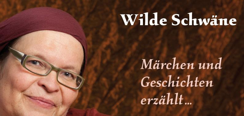 Vorderseite Karte 'Wilde Schwäne Märchen und Geschichten erzählt…'