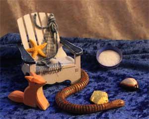 Symbole und Figuren für Märchen vom Meer