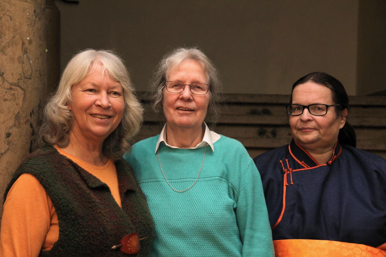 Die Erzählerinnen Reingard Fuchs, Hella Rißmann und ich
