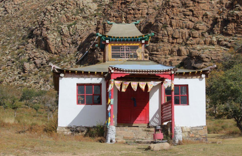 Tempel des Gebirgsklosters Erdene Khamba